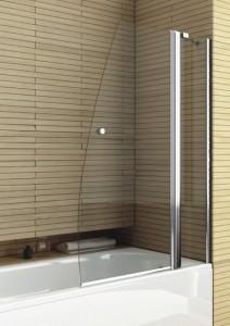 Стеклянная шторка для ванной Aquaform