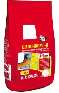 Затирка для плитки Litochrom