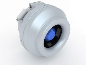 Канальный вентилятор для вытяжки KORF