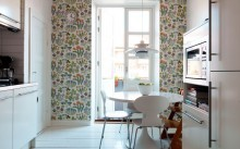 Как правильно подобрать моющиеся обои для кухни?