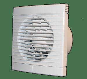Стандартный вентилятор для вытяжки в ванной