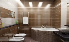 Влагозащищенные светильники в ванной