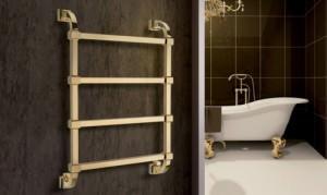 Водяной полотенцесушитель в ванной