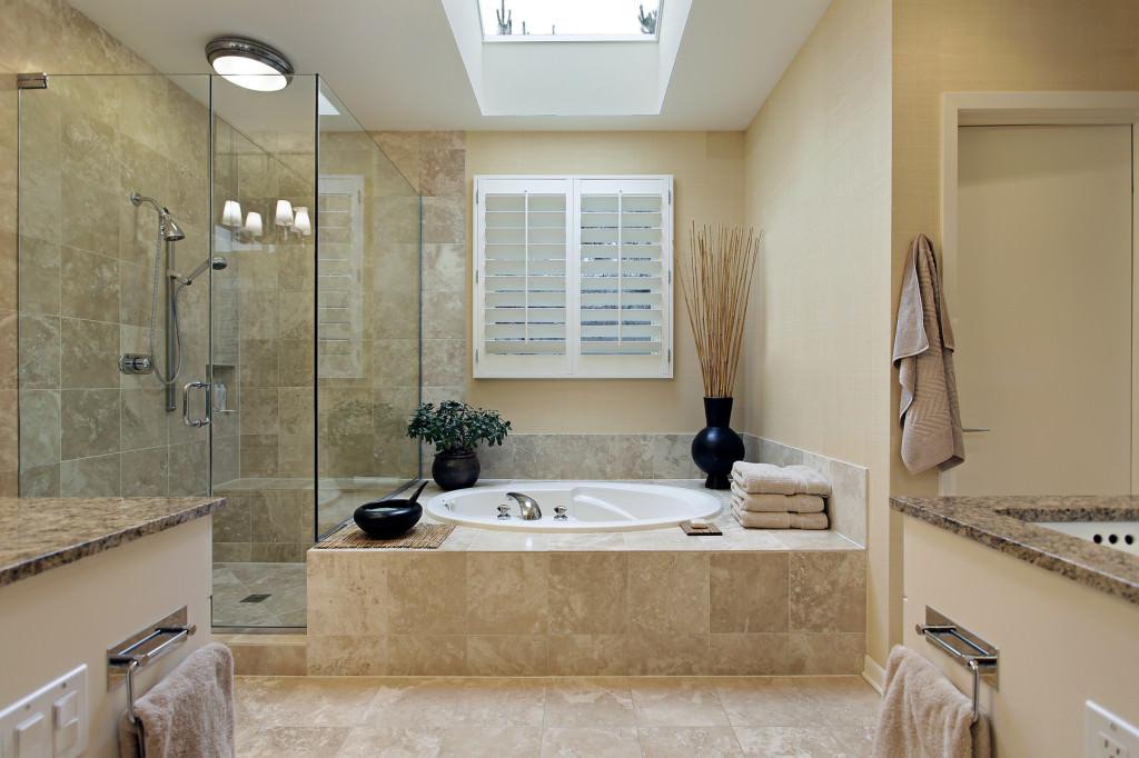 Ванна с душевой кабиной
