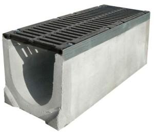 бетонный водоотводный лоток