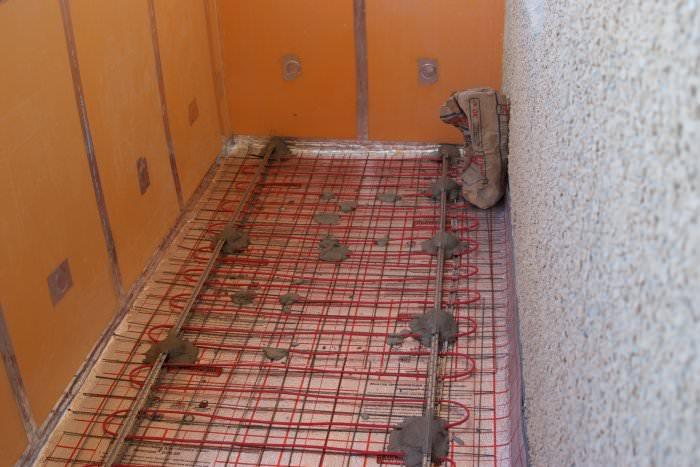 пеноплекс на теплом полу