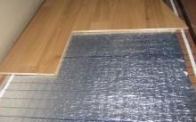 Какие бывают электрические теплые полы под ламинат?