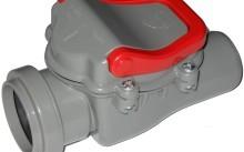 Разновидности и монтаж обратного клапана для канализации