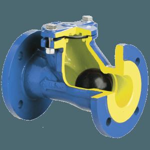 шаровый обратный клапан