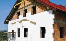 дом утепленный пенопластом