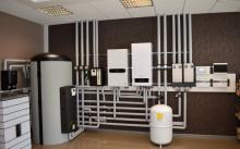 Газовый отопительный котел для частного дома