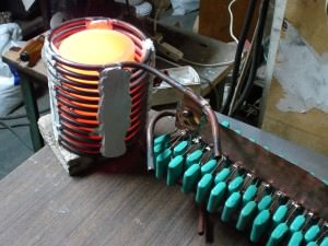 самодельный индукционный нагреватель