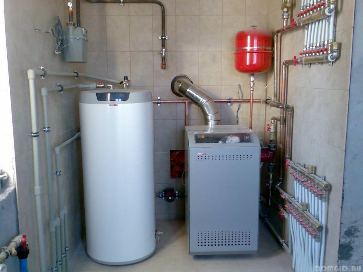 Газовый котел для отопления частного дома своими руками 22
