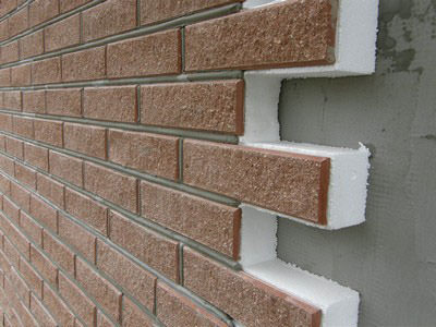 стена из пенопласта