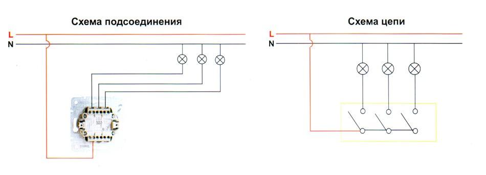 Поперечная резинка схема вязания