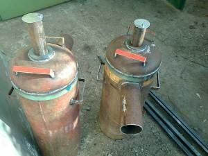 Подготовка баллонов для изготовления бубафони