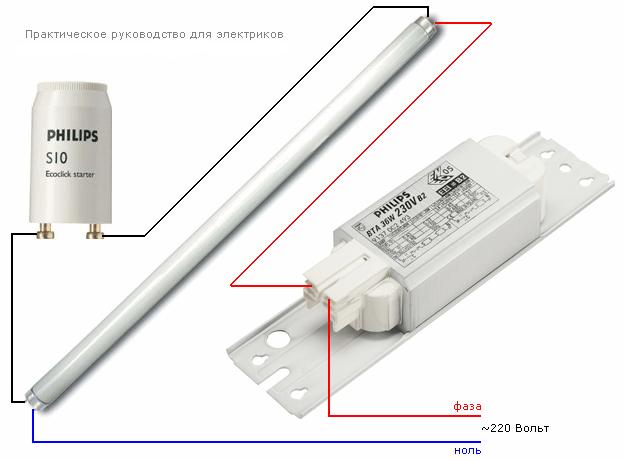 Как сделать дроссель для люминесцентных ламп