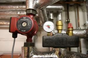 Насос Grundfos в системе отопления