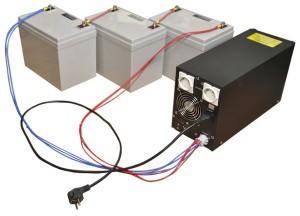 Инвертор и аккумуляторы