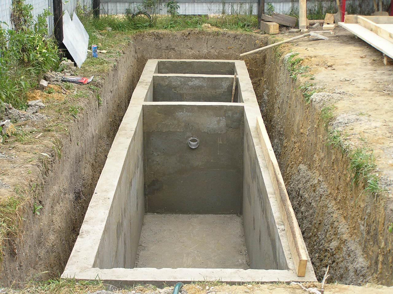 Основание для канализации