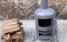 Как сделать печь из газового баллона своими руками