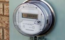 Электронный счетчк с нулевыми показателями