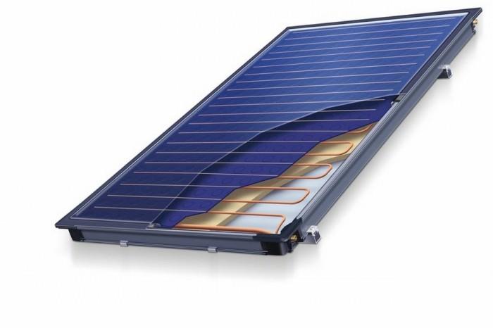 Солнечная батарея в разрезе