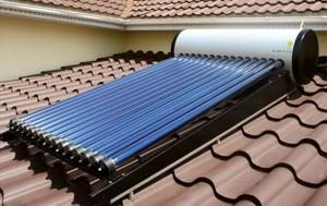 Солнечные водяные батареи для дома