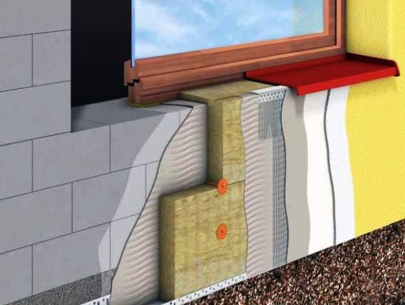 Пирог утепления стен снаружи