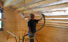 Инструкция по утеплению потолка в бане