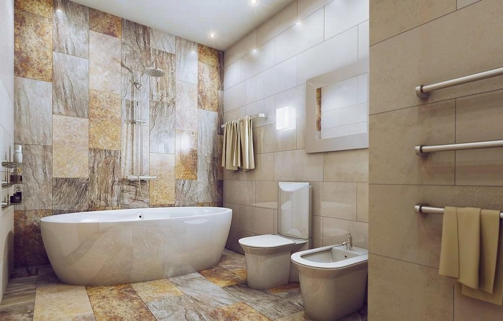 Ванна в стиле Модерн