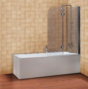 Стеклянная шторка для ванной DEVIT