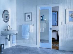 Раздвижная дверь для ванной комнаты