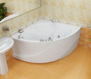 Симметричная угловая ванна