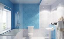 Ванна, отделанная панелями ПВХ