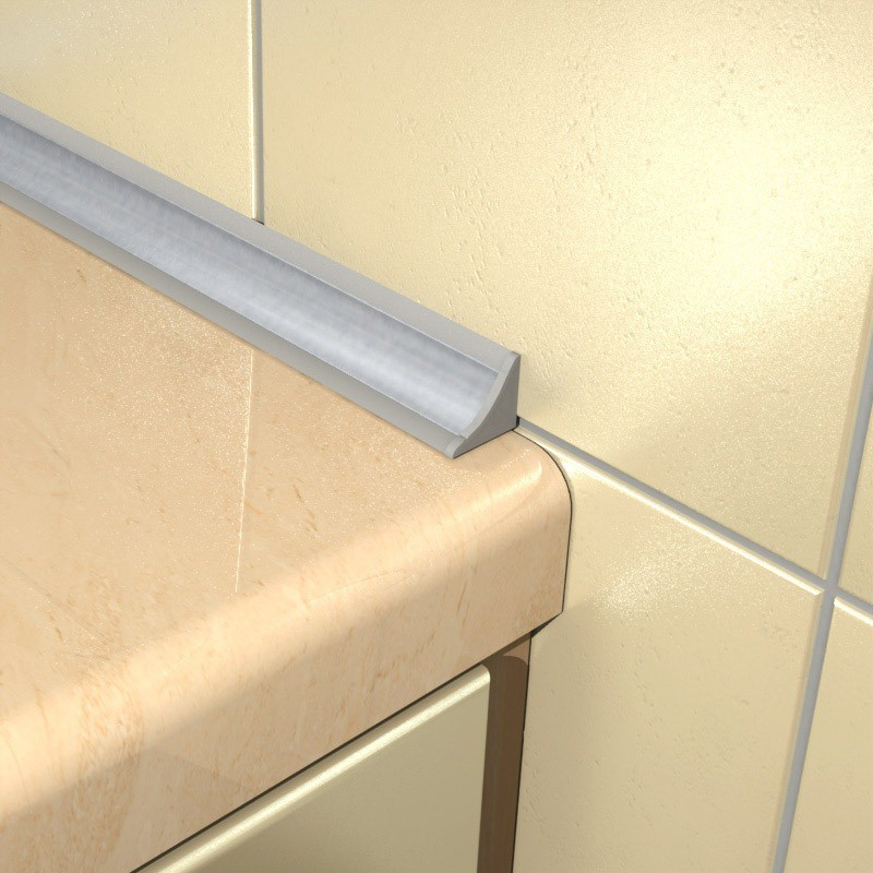 керамические бордюры в ванной