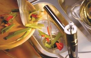 овощи в измельчителе пищевых отходов