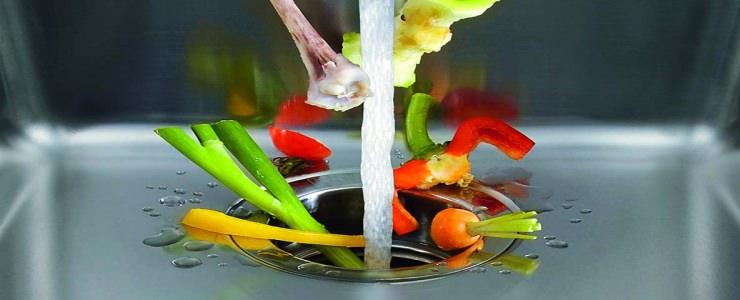 овощи в раковине