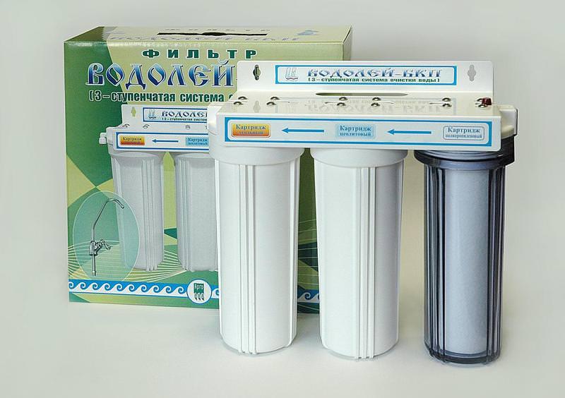 фильтры для очистки воды под раковину