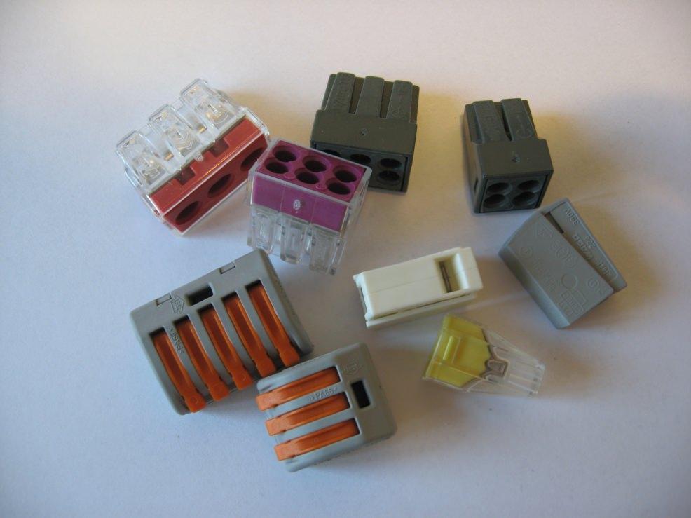 клеммы для соединения проводов