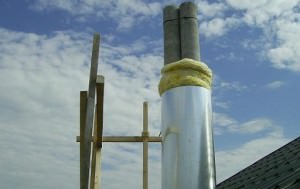 дымоход из асбестоцемента
