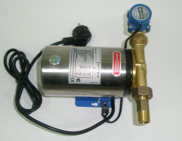 насос для повышения воды в квартире