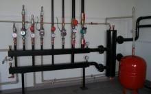 Гидрострелка отопления
