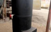 Вертикальный котел для бани