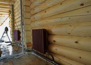 Ленинградка в деревянном доме