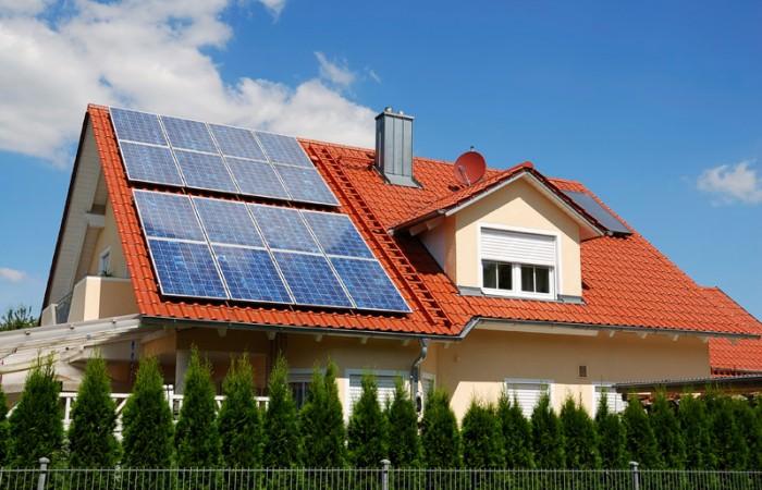 Установленные солнечные батареи