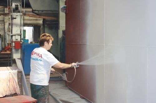 Утепление стен жидкой керамикой