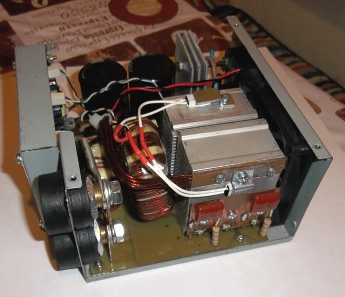 Фото блока питания самодельного сварочного инвертора